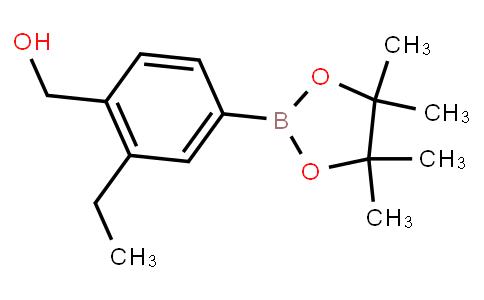 4-Hydroxymethyl-3-ethylphenylboronic acid pinacol ester