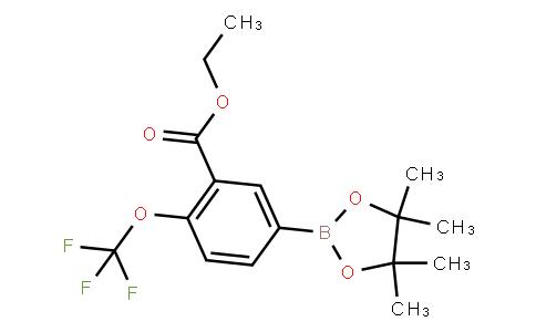 BP21630 | 3-Ethoxycarbonyl-4-(trifluoromethoxy)phenylboronic acid pinacol ester