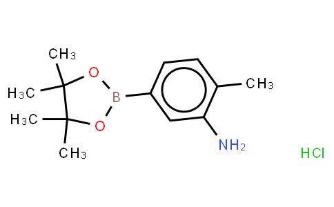 BP21632   850567-52-1   3-Amino-4-methylphenylboronic acid, pinacol ester, HCl