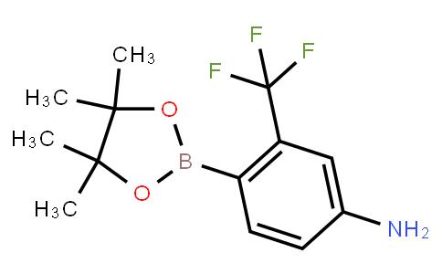 BP21658   1259285-61-4   4-(4,4,5,5-tetramethyl-1,3,2-dioxaborolan-2-yl)-3-(trifluoromethyl)aniline