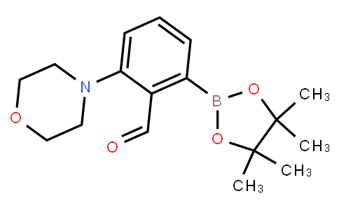 2-Formyl-3-(morpholino)phenylboronic acid pinacol ester