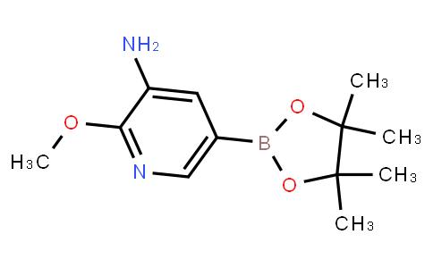 BP21670   893440-50-1   2-Methoxy-3-aminopyridine-5-boronic acid pinacol ester