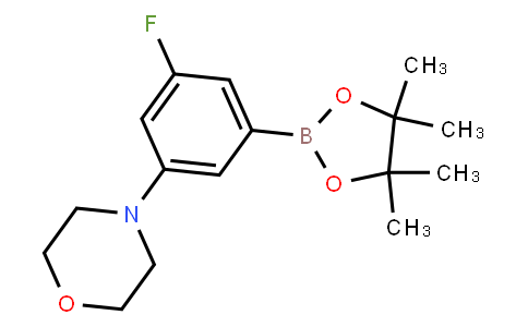 BP21681   1129541-03-2   3-Fluoro-5-(morpholino)phenylboronic acid pinacol ester