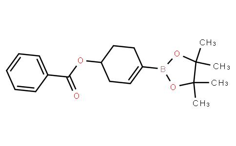 BP21682   3-Cyclohexen-1-ol, 4-(4,4,5,5-tetramethyl-1,3,2-dioxaborolan-2-yl)-, 1-benzoate