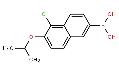5-Chloro-6-isopropoxynaphthalene-2-boronic acid