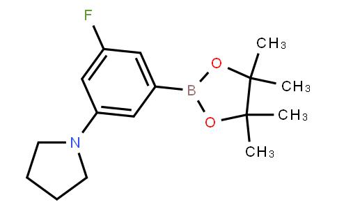 BP21693 | 1415928-84-5 | 3-Fluoro-5-(pyrrolidino)phenylboronic acid pinacol ester