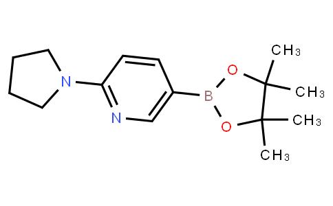 BP21696   933986-97-1   2-(Pyrrolidino)pyridine-5-boronic acid pinacol ester