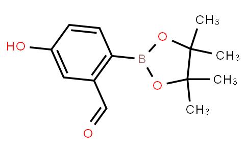 BP21697 | 1038827-60-9 | 5-Hydroxy-2-(4,4,5,5-tetramethyl-1,3,2-dioxaborolan-2-yl)benzaldehyde