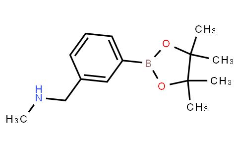 BP21698   1454653-59-8   N-methyl-3-(4,4,5,5-tetramethyl-1,3,2-dioxaborolan-2-yl)-benzenemethanamine