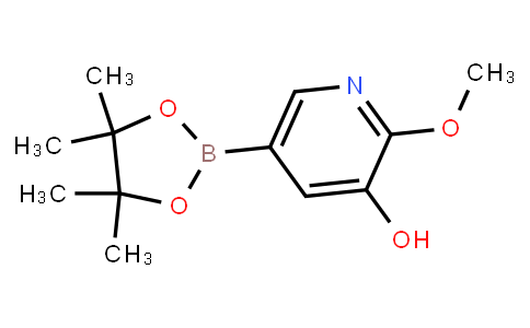 3-Hydroxy-2-methoxypyridine-5-boronic acid pinacol ester