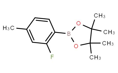 BP21708   1165936-03-7   2-Fluoro-4-methylphenylboronic acid pinacol ester
