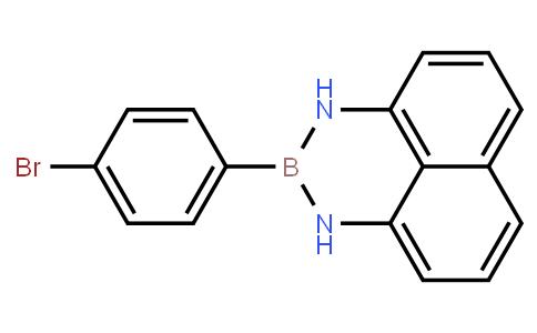 BP21710   927384-44-9   2-(4-Bromophenyl)-2,3-dihydro-1H-naphtho[1,8-de][1,3,2]diazaborine