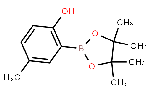 BP21713 | 1398414-30-6 | 4-Methyl-2-(4,4,5,5-tetramethyl-1,3,2-dioxaborolan-2-yl)phenol