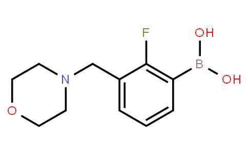 2-Fluoro-3-(morpholinomethyl)phenylboronic acid