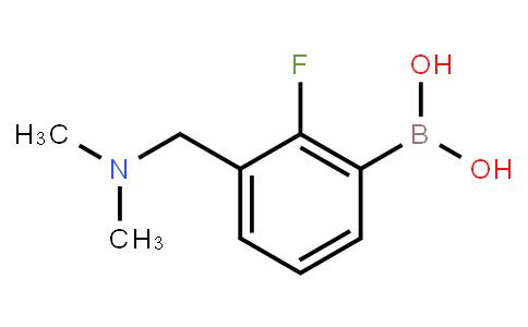 3-(N,N-dimethylaminomethyl)-2-fluorophenylboronic acid