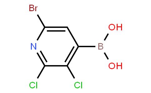 6-Bromo-2,3-dichloropyridine-4-boronic acid