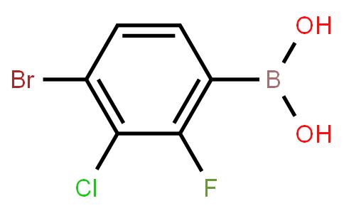 BP21724 | 4-Bromo-3-chloro-2-fluorophenylboronic acid