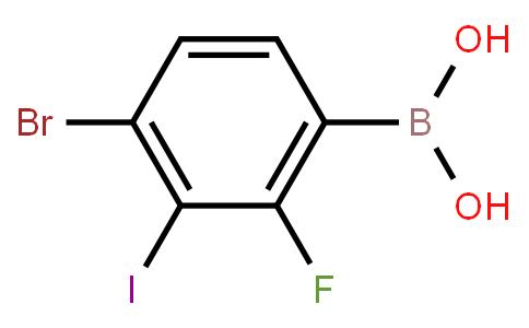 BP21725 | 4-Bromo-2-fluoro-3-iodophenylboronic acid