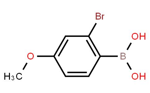 2-Bromo-4-methoxyphenylboronic acid
