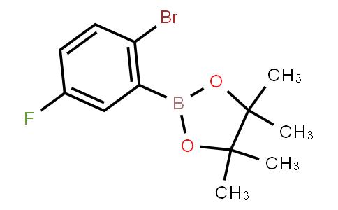 2-Bromo-5-fluorophenylboronic acid pinacol ester