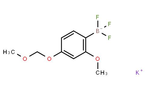 BP21757 | Potassium trifluoro[2-methoxy-4-(methoxymethoxy)phenyl]boranuide