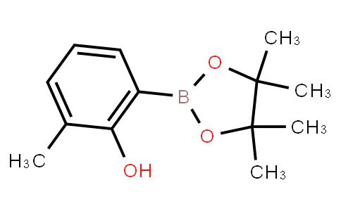 2-Hydroxy-3-methylphenylboronic acid pinacol ester