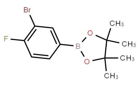 BP21811 | 1646842-16-1 | 3-Bromo-4-fluorophenylboronic acid pinacol ester