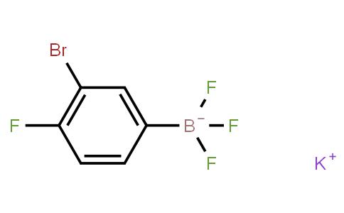 BP21812 | Potassium 3-bromo-4-fluorophenyltrifluoroborate