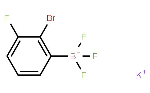 Potassium 2-bromo-3-fluorophenyltrifluoroborate