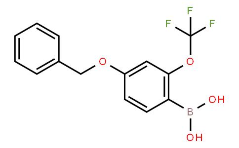 BP21827 | 1562343-86-5 | 4-Benzyloxy-2-(trifluoromethoxy)phenylboronic acid