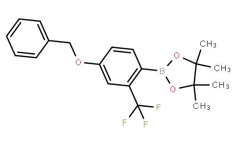 BP21832 | 1218790-07-8 | 4-Benzyloxy-2-trifluoromethylphenylboronic acid pinacol ester
