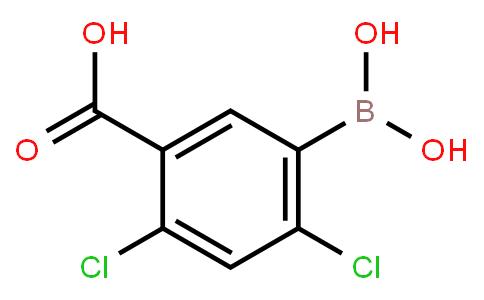 5-Carboxy-2,4-dichlorophenylboronic acid