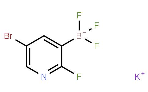BP21836 | 1245906-64-2 | Potassium (5-bromo-2-fluoropyridin-3-yl)trifluoroborate