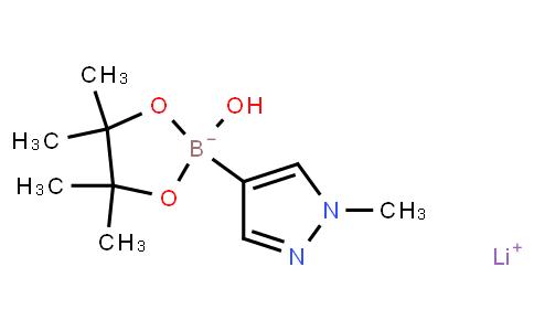 BP21930 | 1173889-20-7 | LITHIUM 2-HYDROXY-4,4,5,5-TETRAMETHYL-2-(1-METHYL-1H-PYRAZOL-4-YL)-1,3,2-DIOXABOROLAN-2-UIDE