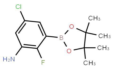 BP21934 | 1269232-96-3 | 5-CHLORO-2-FLUORO-3-(4,4,5,5-TETRAMETHYL-1,3,2-DIOXABOROLAN-2-YL)ANILINE