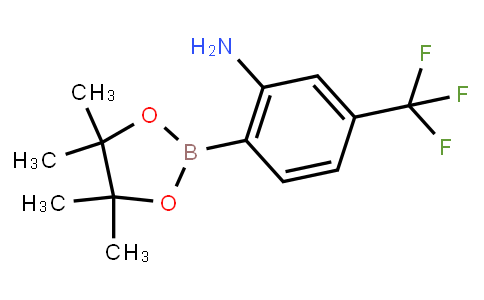BP21965   1196972-92-5   2-(4,4,5,5-TETRAMETHYL-1,3,2-DIOXABOROLAN-2-YL)-5-(TRIFLUOROMETHYL)ANILINE