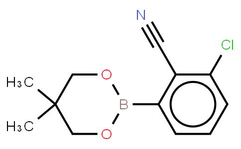 BP21974   883899-06-7   3-Chloro-2-cyanophenylboronic acid neopentyl glycol ester