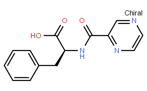 BP22061   114457-94-2   (S)-3-phenyl-2-(pyrazine-2-carboxamido)propanoic acid
