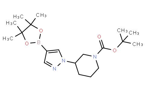 BP22062   1092563-74-0   tert-butyl 3-(4-(4,4,5,5-tetramethyl-1,3,2-dioxaborolan-2-yl)-1H-pyrazol-1-yl)piperidine-1-carboxylate