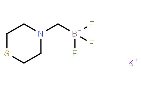BP22064   1150654-80-0   POTASSIUM (THIOMORPHOLIN-4-YL)METHYLTRIFLUOROBORATE