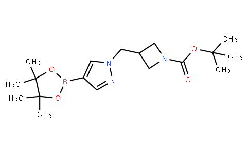 BP22068   877399-31-0   tert-Butyl 3-((4-(4,4,5,5-tetramethyl-1,3,2-dioxaborolan-2-yl)-1H-pyrazol-1-yl)methyl)azetidine-1-carboxylate
