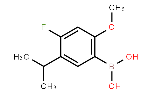 BP22197 | 875446-29-0 | 4-Fluoro-5-isopropyl-2-methoxyphenylboronic acid