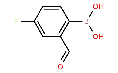 BP22199 | 825644-26-6 | 4-Fluoro-2-formylphenylboronic acid