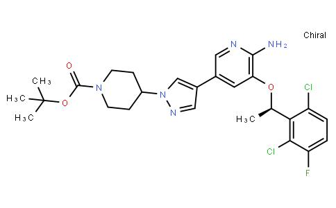 BP22253 | 877399-51-4 | (R)-tert-butyl-4-(4-(6-amino-5-(1-(2,6-dichloro-3-fluorophenyl)ethoxy)pyridin-3-yl)-1h-pyrazol-1-yl)piperidine-1-carboxylate