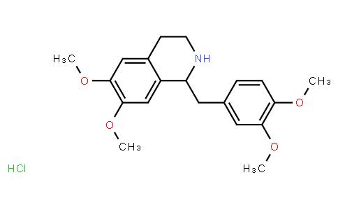 BP22256   6429-04-5   1-(3,4-Dimethoxybenzyl)-6,7-dimethoxy-1,2,3,4-tetrahydroisoquinoline hydrochloride