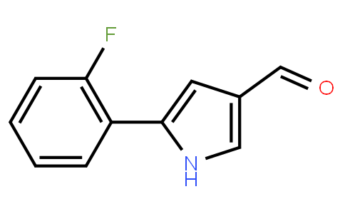 BP22258 | 881674-56-2 | 5-(2-fluorophenyl)-1H-pyrrole-3-carbaldehyde