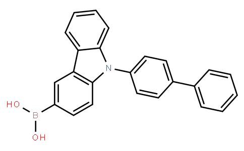 BP22273 | 1133058-06-6 | 9-(Biphenyl-4-yl)-9H-carbazol-3-ylboronic acid