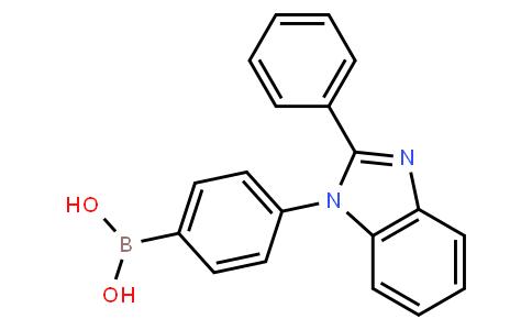 BP22275 | 867044-33-5 | 4-(2-phenyl-1H-benzo[d]imidazol-1-yl)phenylboronic acid
