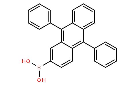 BP22302 | 597553-98-5 | B-(9,10-diphenyl-2-anthracenyl)boronic acid