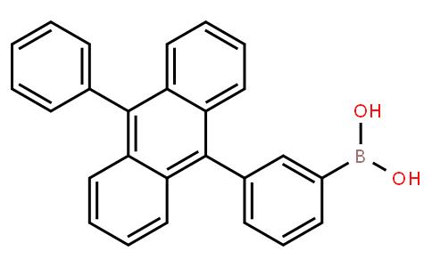 BP22303   905947-49-1   3-(10-Phenyl-9-anthracenyl)phenyl boronic acid